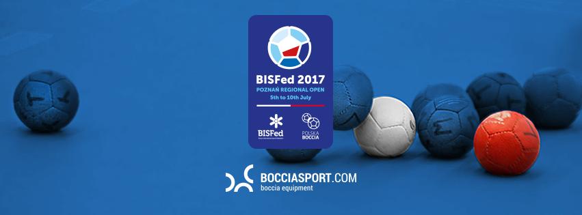 bocciasport.com oficjalnym sponsorem Bisfed 2017 Poznan Regional OPEN 5th to 10th July