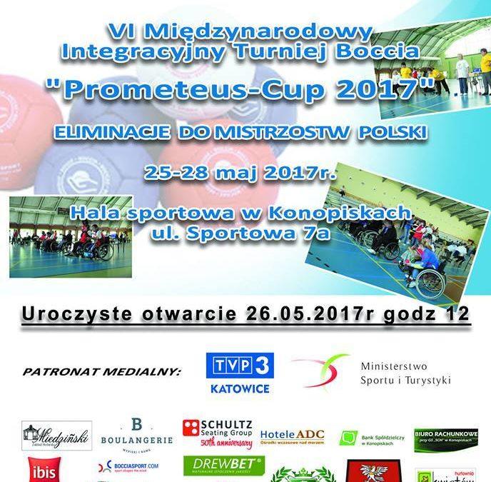 """VI międzynarodowy Integracyjny Turniej Boccia. """"Prometeus Cup 2017"""""""