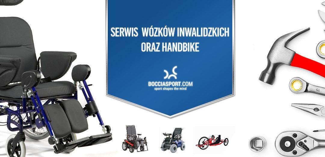 Nowy serwis wózków inwalidzkich oraz handbike bocciasport.com