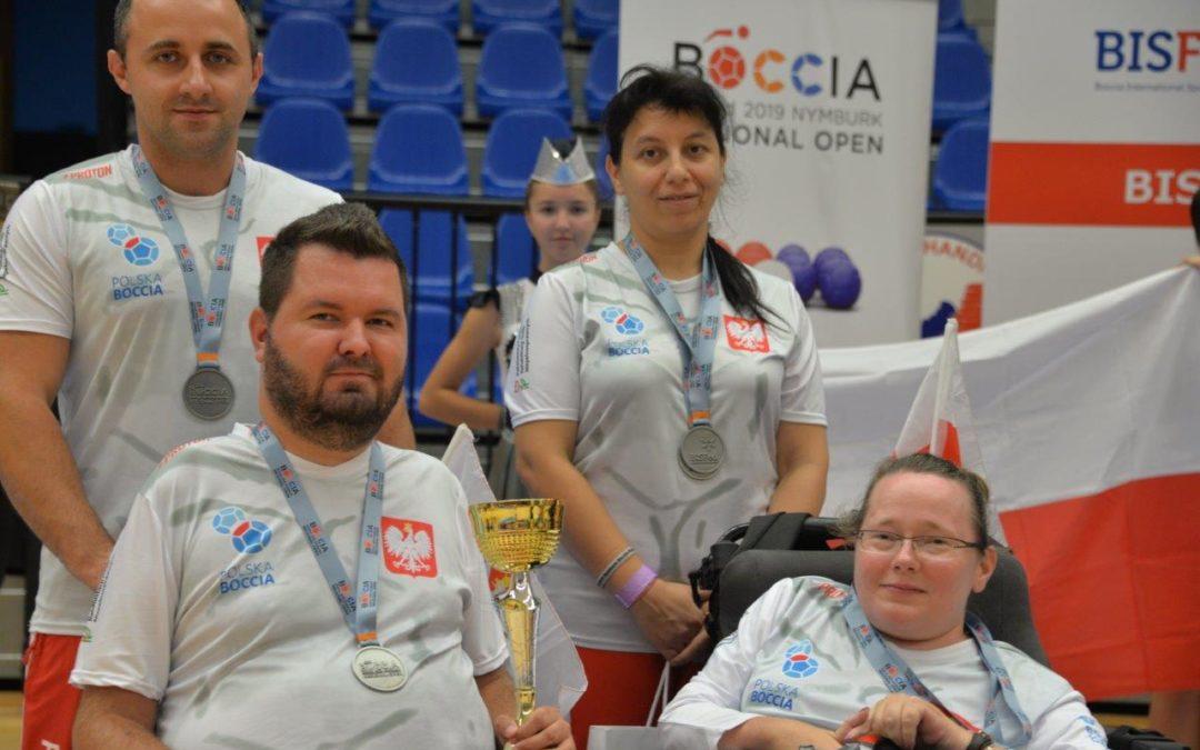 Dwa srebra polskiej reprezentacji w BISFeD 2019 Nymburk Boccia Regional Open